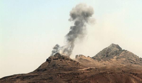 انفجارات قوية تهز صنعاء - (مواقع المليشيا المستهدفة)