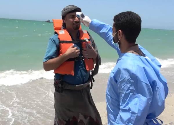 """ضباط الإرتباط  في البعثة الأممية يخضعون لفحوصات """"كورونا"""" بعد إطلاق سراحهم من منطقة يسيطر عليها الحوثي"""