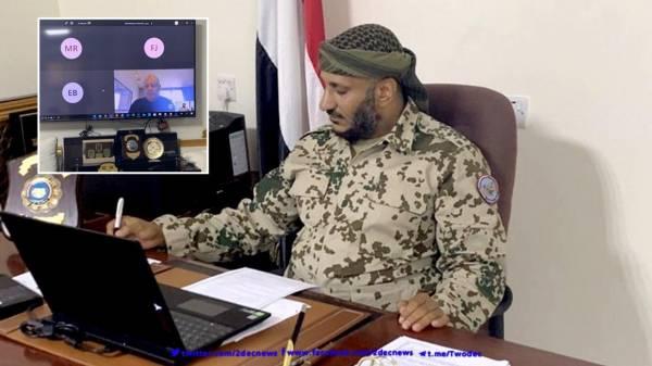 قائد المقاومة الوطنية العميد طارق صالح يلتقي بالمبعوث الأممي الخاص لليمن - تفاصيل