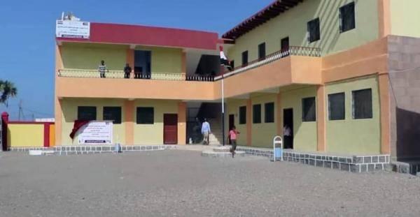 الهلال الاماراتي يعيد تأهيل مدرسة في يختل بالساحل الغربي يدرس بها 1500 طالب وطالبة