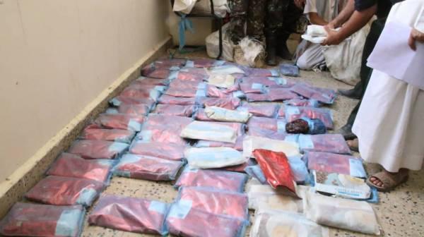 الأجهزة الأمنية بمأرب تضبط شحنة مخدرات كانت في طريقها للحوثيين بصنعاء..!