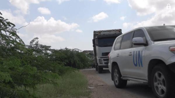 """شكر """"المشتركة"""" على تذليل الصعاب.. الأغذية العالمي يغيث الأسر المحاصرة في مدينة الدريهمي"""