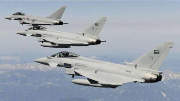 مصرع 8 حوثيين بغارات للتحالف العربي شرق صنعاء
