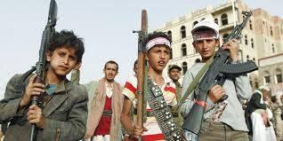 الحوثيون يواصلون انتهاك القانون الإنساني بتجنيدهم للأطفال والعقيلي يدعو المجتمع الدولي لتحمل مسئوليته