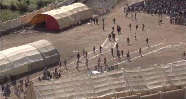 """اتهام ما يسمى بالمقاومة الشعبية """"تعز"""" بتجنيد إرهابين في معسكر يفرس"""