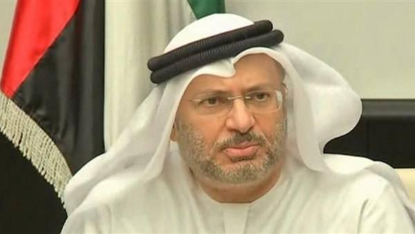 قرقاش: معالجة الأزمة الخليجية تبدأ بمراجعة السياسات الخاطئة لقطر