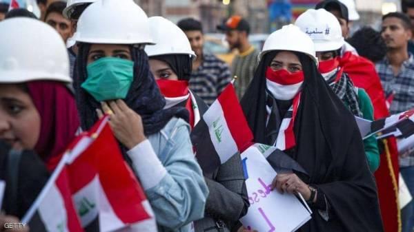 المحتجون يغلقون طرقا رئيسية في 3 محافظات جنوبي العراق