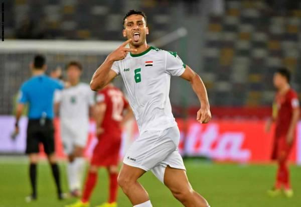 العراق يحقق فوزا مثيرا على فيتنام في كأس آسيا 2019