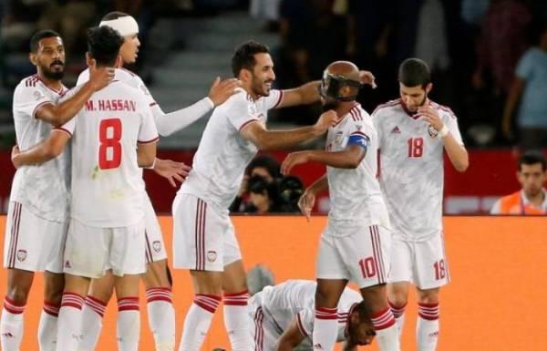 #كاس_اسيا_2019: المنتخب الإماراتي يتصدر مجموعته بفوزه على المنتخب الهندي بهدفين مقابل لا شيء
