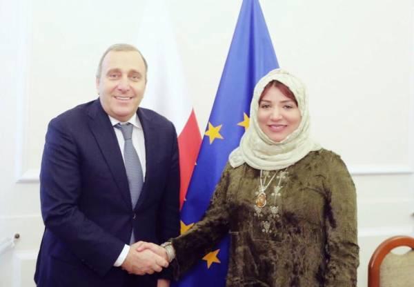 مجلي تناقش جرائم المليشيات الحوثية مع رئيس لجنة العلاقات الخارجية بمجلس النواب البولندي