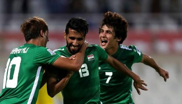 بشار رسن لاعب العراق يستهدف إسقاط إيران