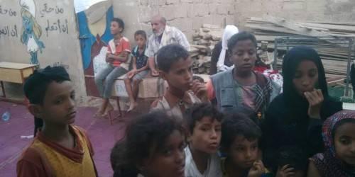 توزيع ملابس شتوية لذوي الاحتياجات الخاصة في وادي حضرموت