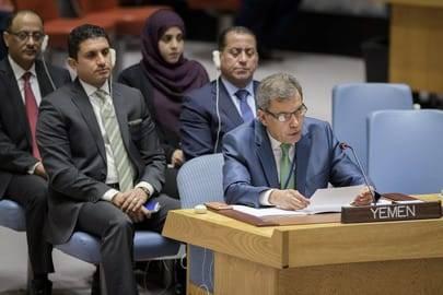 اليمن يرحب بقرار مجلس الأمن المتعلق بنشر مراقبين دوليين في الحديدة