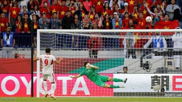 """فيتنام """"تصعق"""" الأردن وتتأهل لربع نهائي #كأس #آسيا"""