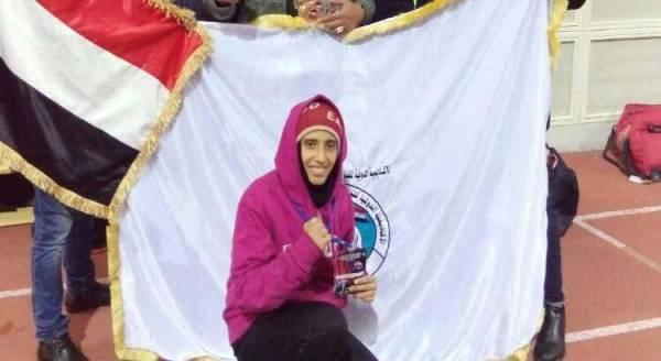 سهام عامر.. إنجازات ذهبية رياضياً لفتاة يمنية