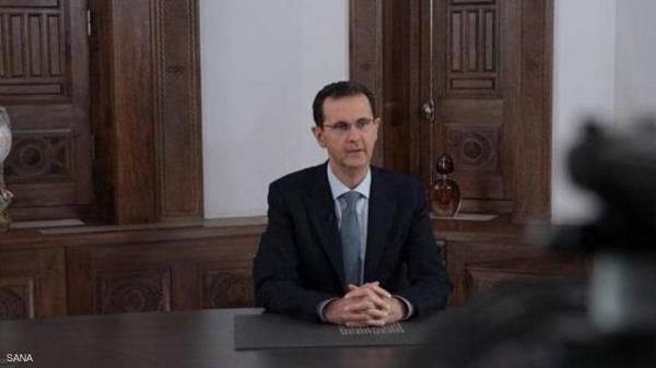 """الرئيس السوري يؤكد عزم قواته على """"تحرير الأراضي السورية كاملة"""""""