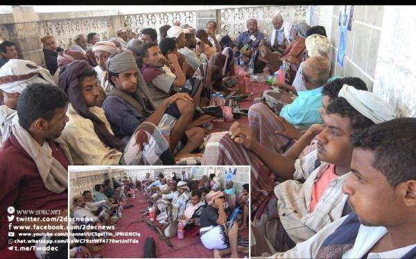 تعز.. اجتماع مؤتمري بموزع يطالب بتصنيف الحوثيين جماعة إرهابية ورفع العقوبات عن أحمد علي