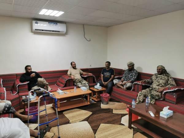 تفاصيل اجتماع قائد المقاومة الوطنية العميد طارق صالح بقادة ألوية العمالقة