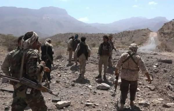 المليشيا الحوثية تتكبد خسائر فادحة اثناء محاولة تسلل غرب الحشاء بالضالع