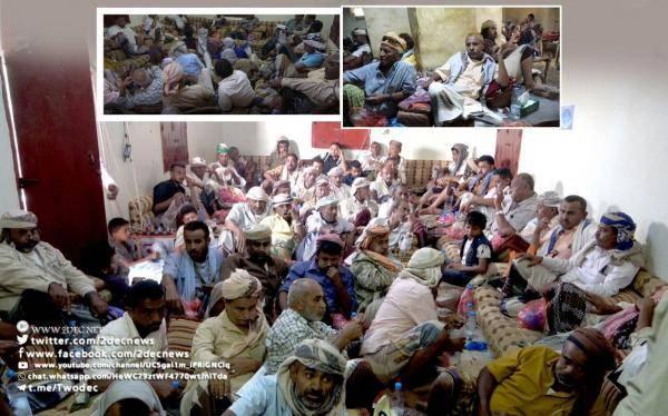مؤتمريو المخا والخوخة يستنكرون الصمت الدولي إزاء قنص الحوثيين ضابط الارتباط الصليحي