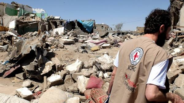 الصليب الدولي يقدم مساعدات لنازحي كشر &#34حجة&#34 ويؤكد صعوبة الوضع ولا خيار سوى الفرار