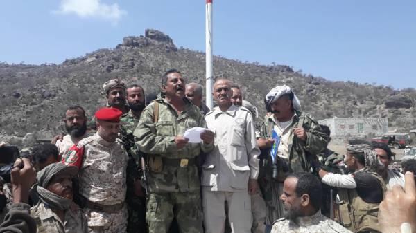 العميد العولقي يؤكد مواصلة مشوار النضال حتى تحرير كل ارجاء الوطن من مليشيات  الحوثي الإرهابية
