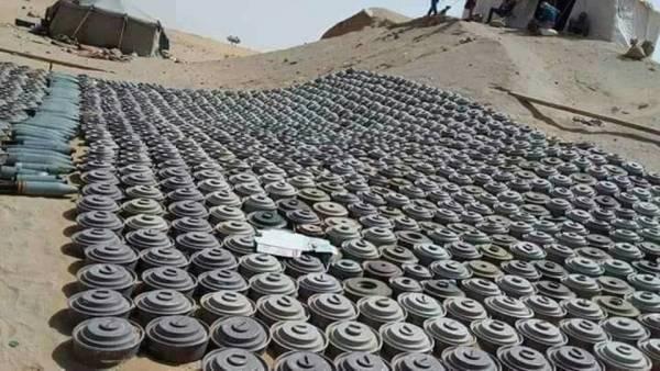 مسام: إزالة أكثر من 156 ألف لغم حوثي في اليمن