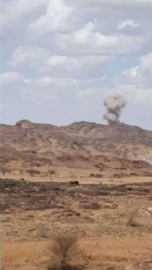معارك عنيفة في البيضاء ومقتل قيادي حوثي بغارة جوية (الاسم)