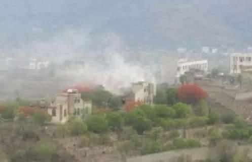 مليشيا &#34الحشد الشعبي الإخوانية&#34 تحرق منزل محافظ تعز السابق أمين محمود..! – (تفاصيل)