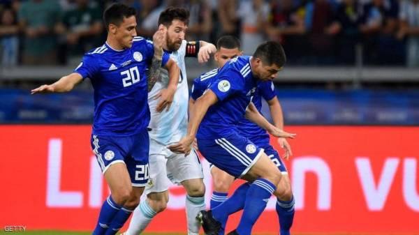 """صورة توضح """"مأساة"""" ميسي مع منتخب الأرجنتين"""