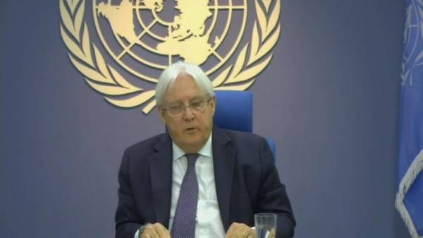 """في إحاطته لمجلس الأمن.. """"غريفيث"""": الحديدة هي البوابة المحورية للسلام في اليمن..!"""