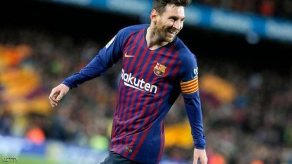 برشلونة يبعث رسالة إلى ميسي