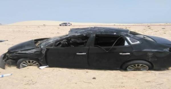 وفاة فتاة وإصابة 6 من عائلتها بحادث مروع في أبين