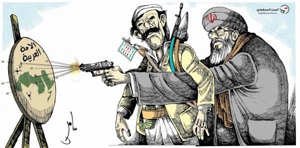 """أقواله تنكر وأفعاله تفضح.. """"أرامكو"""" تبرز ارتزاق الحوثي لطهران بثمن يدفعه اليمنيون"""