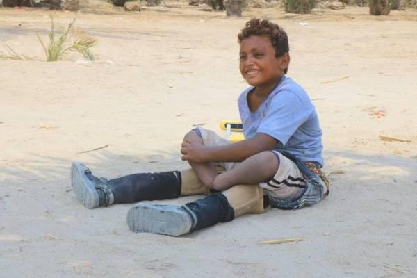 """لماذا تتستر الأمم المتحدة على استخدام الحوثيين """"الألغام"""" المحرمة دولياً لقتل أطفال اليمن.. (الطفل """"درهم"""" نموذجا)..!؟"""