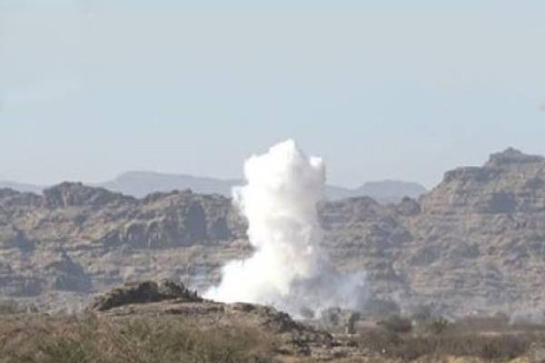 مقاتلات التحالف تشن غارات مفاجئة على الصفراء بصعدة وتدمر مخابئ سلاح وتحصينات للحوثيين..!