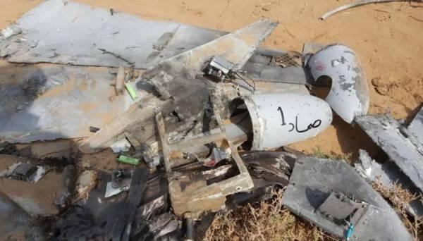 إسقاط طائرة حوثية بدون طيار جنوب تعز