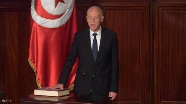 قيس سعيد يؤدي اليمين الدستورية رئيسا لتونس
