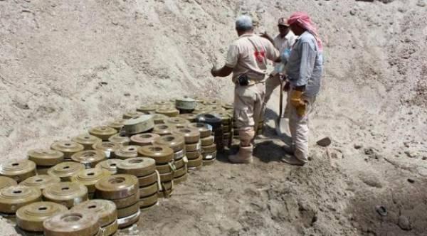 مشروع سعودي لتخليص اليمن من 9 ألاف لغم