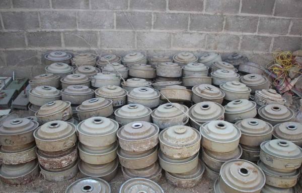 """مشروع """"مسام""""  ينزع أكثر من 3 آلاف لغم حوثي في أسبوع"""