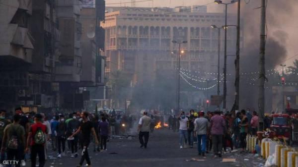 العراق.. إطلاق رصاص حي على متظاهرين في بغداد