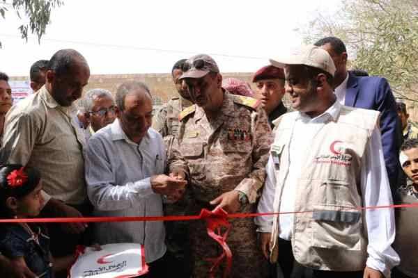 الهلال الأحمر الإماراتي يعتمد نفقة تشغيلية لمستشفى المواسط الريفي بتعز