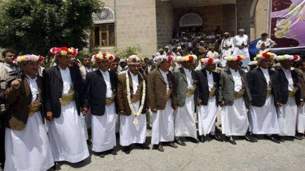 الهلال الأحمر الإماراتي ينظم غداً عرساً جماعياً لـ200 عريس وعروس في عدن