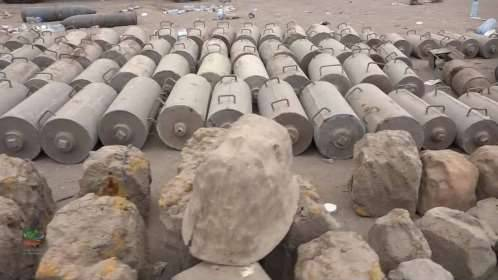 إتلاف كميات كبيرة من الألغام التي خلفتها مليشيا الحوثي بصعدة..!