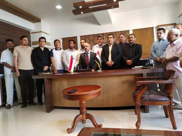 القنصلية اليمنية في بومباي بالهند تحتفي بأعياد الثورة اليمنية