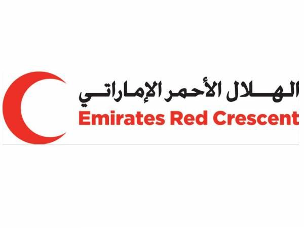 هلال الإمارات يسير قافلة غذائية لسكان المناطق القريبة من خطوط النار بالساحل الغربي