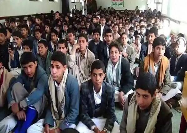 الحوثيون.. الأكثر استغلالاً للأطفال في الحروب