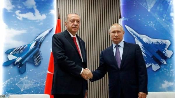 """وسط توتر """"خطير"""" في سوريا.. مكالمة هاتفية بين أردوغان وبوتن"""