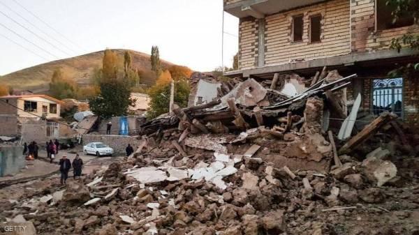 زلزال يهز منطقة الحدود الإيرانية العراقية