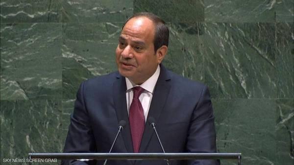 السيسي: مصر أطلقت خطة شاملة ضد الإرهاب